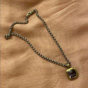 David Yurman sterling silver chain
